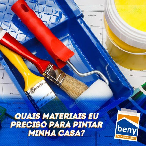 materiais de pintura
