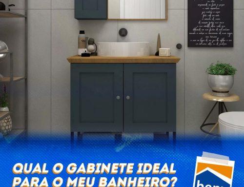 Qual o gabinete ideal para o meu banheiro? De MDF, vidro ou plástico?