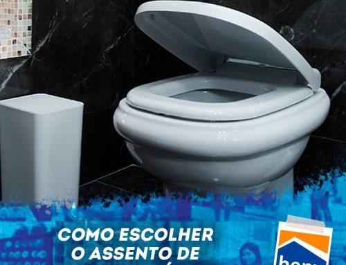 Como escolher o assento de vaso sanitário?